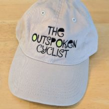Outspoken Cyclist Baseball Cap